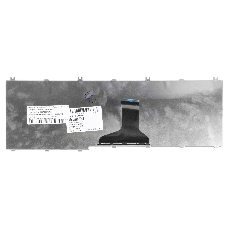 Clavier-pour-Ordinateur-Portable-Toshiba-Satellite-L655-1GE-AZERTY